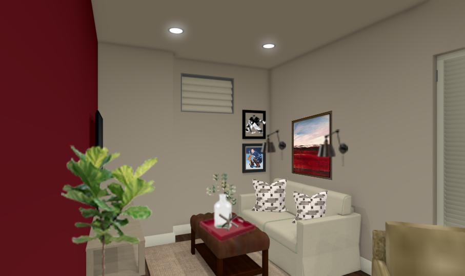 Relaxed Basement Design