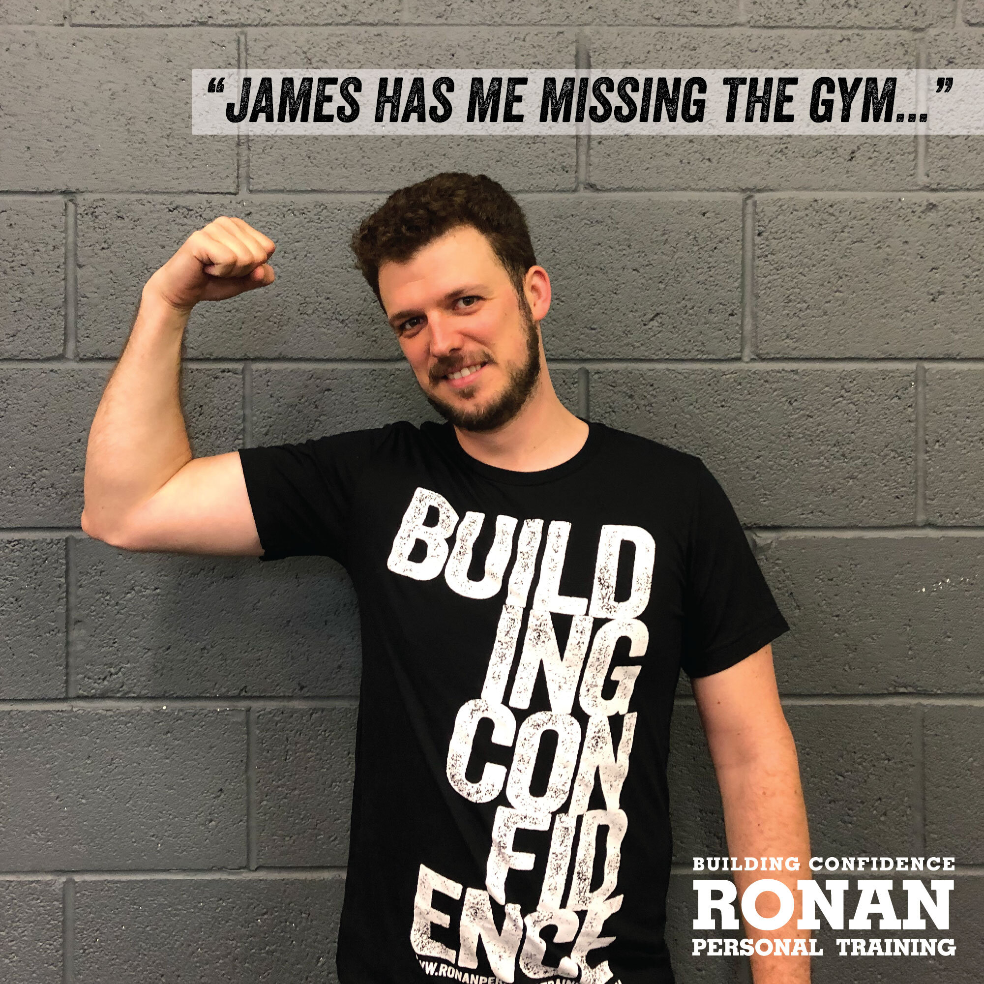 """He has managed to sort out neck pain that I've had for years in a few short months"" - ""James has me missing the gym when travel gets in the way of regular attendance, and 'missing the gym' is not something I would have though possible a short time ago.He has managed to sort out neck pain that I've had for years in a few short months, had me improving my eating habits and, of course, increasing fitness. He translates his pretty extensive knowledge into straightforward, practical advice that leads to results.Extraordinarily flexible to design programs and sessions around you - cannot recommend highly enough. And if you ask him nicely enough, he may even throw in a free, high quality t-shirt."" - Daniel Zimmer, July 2019"