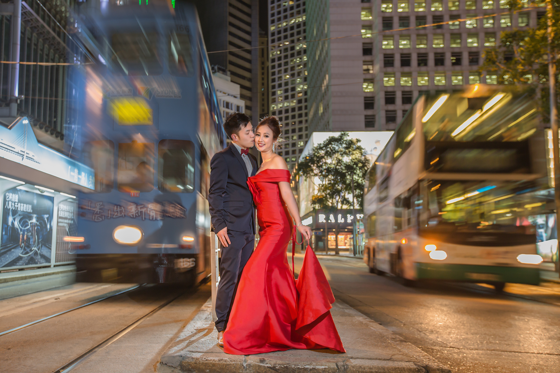 Hong Kong Prewedding - Tram