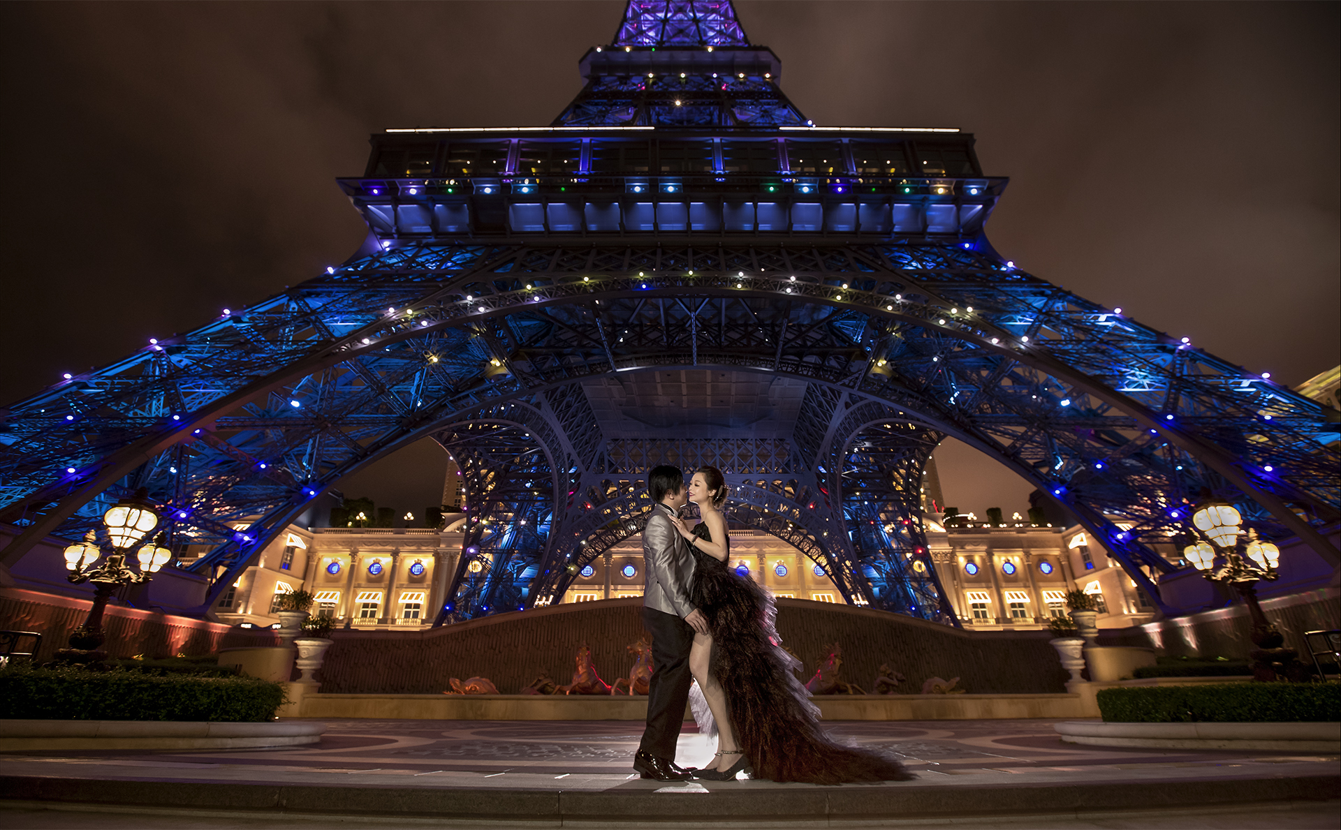 Macau Prewedding - Parisian Eiffel Tower