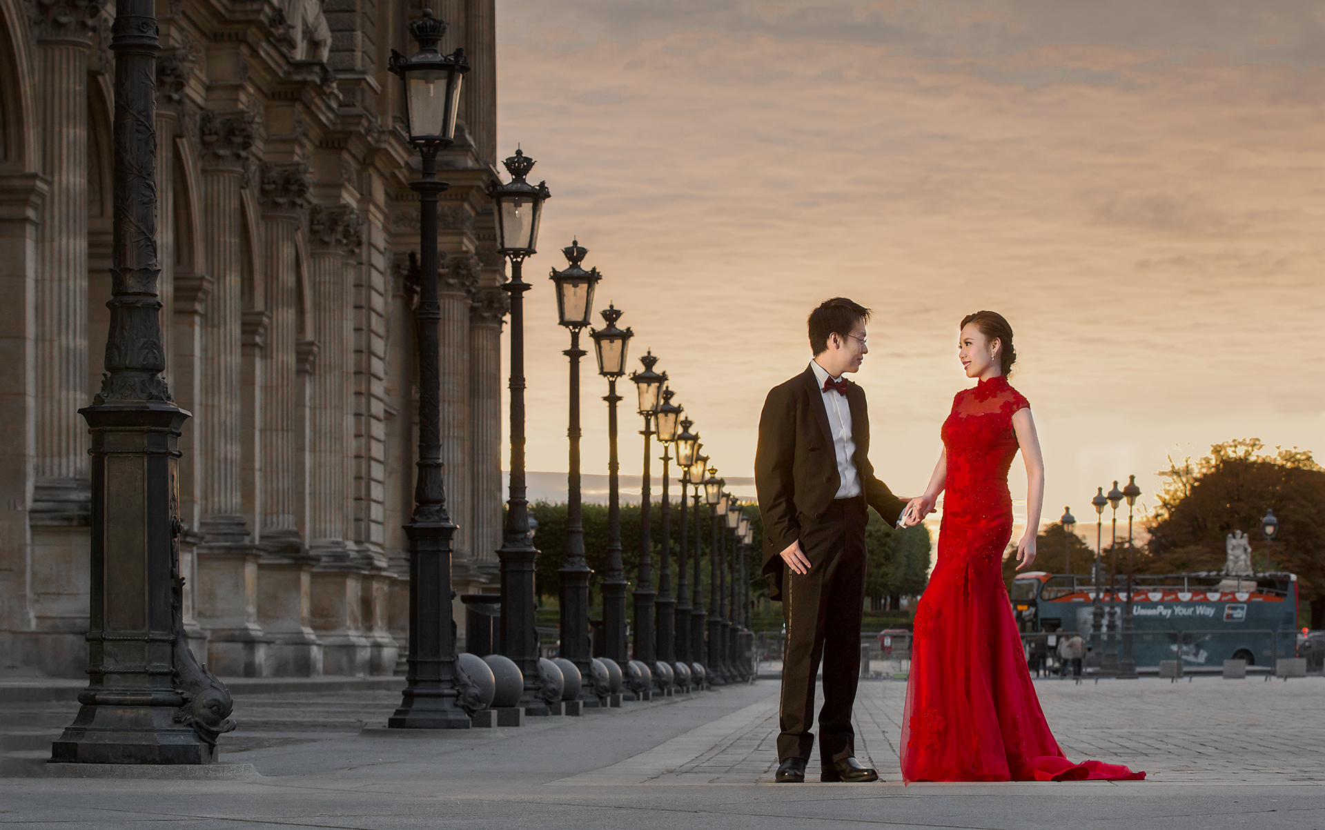 Paris Prewedding - Louvre