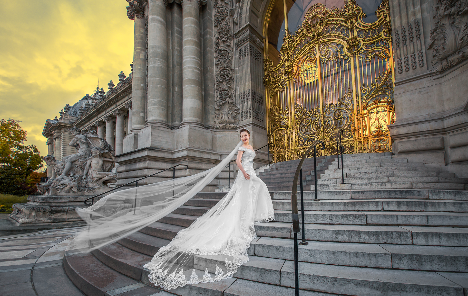 Paris Prewedding - Petit Palais