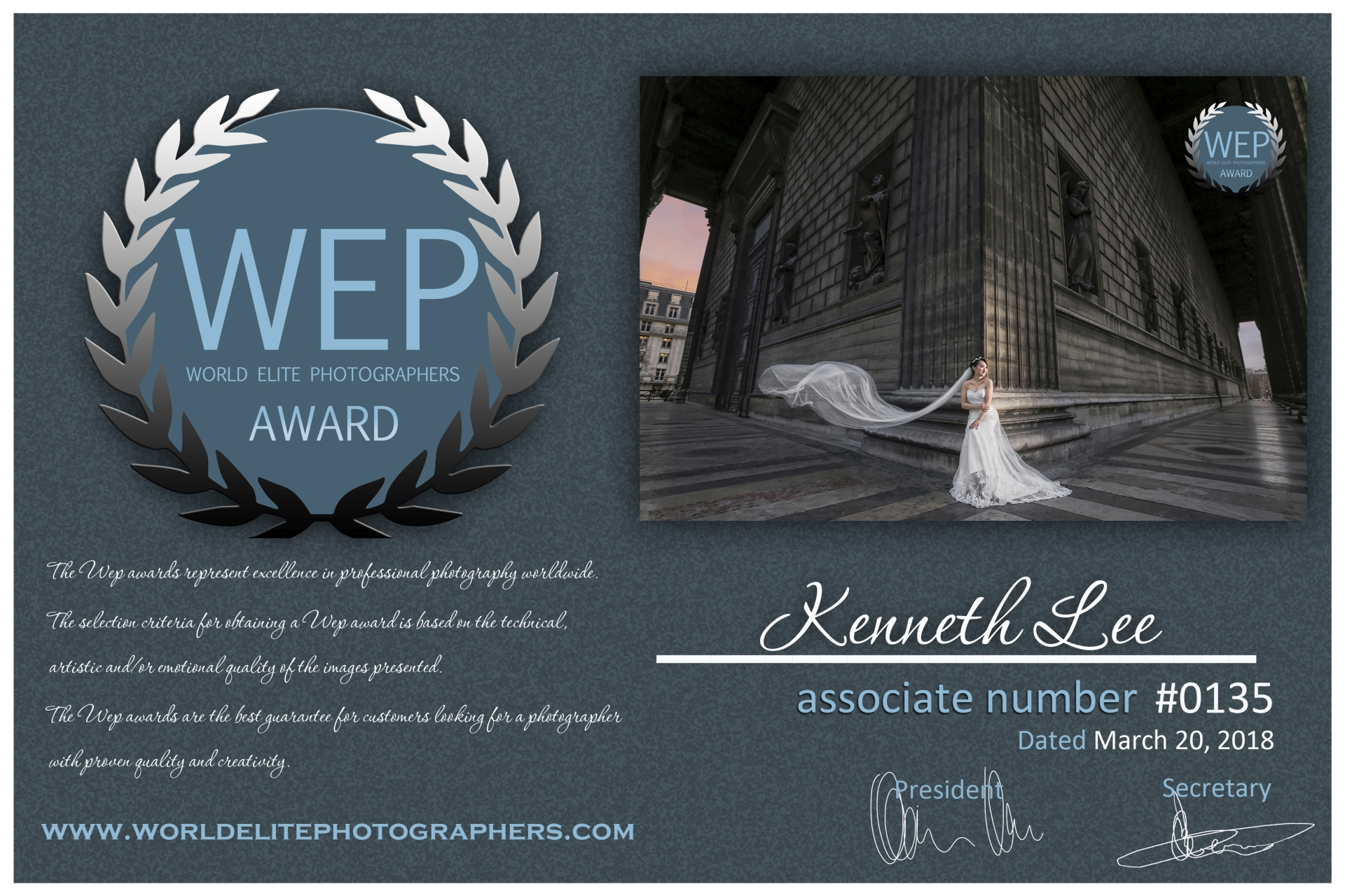 Kenneth Lee Paris Pre-wedding Winning WEP award.jpg