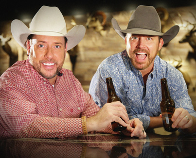 Cowboy Bill Martin and Chad Prather - entertaining audiences with their special brand of Texas-size comedy!