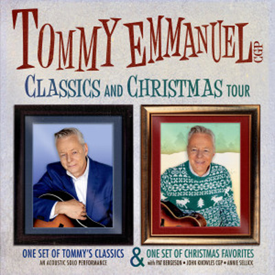 Tommy Emmanuel makes his FIRST EVER Lubbock appearance at the Cactus Theater on Tuesday, December 13th!