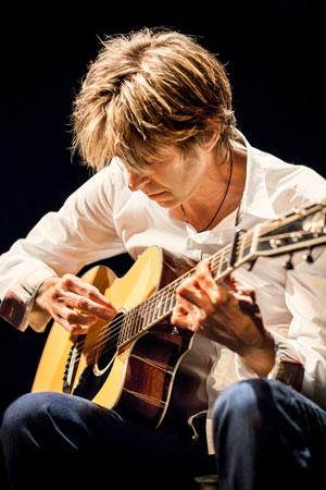 Austin guitar legend Eric Johnson  Photo credit: Max Crace