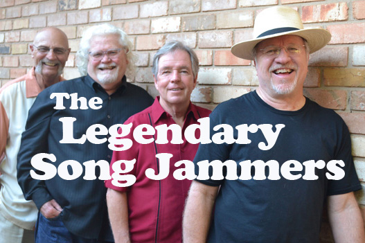 Legendary Song Jammers  (left to right):  Curtis McBride, Jerry Brownlow, Steve Williams & Cary C. Banks