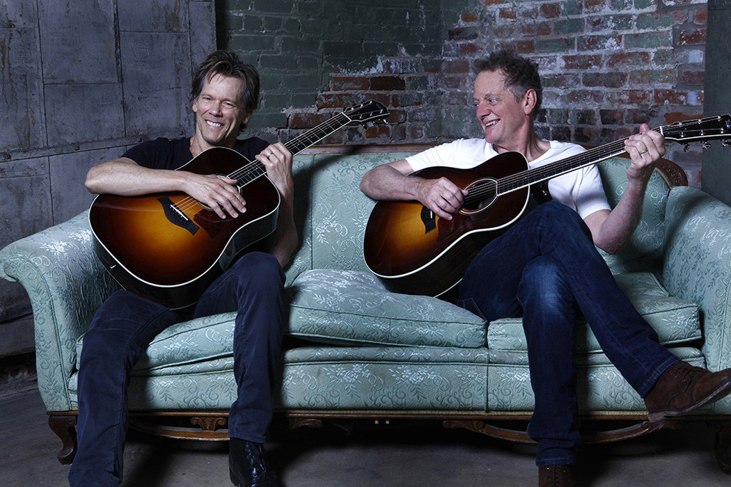 Saturday, October 12…..Get ready for an amazing evening of eclectic music from two great entertainers - Michael and Kevin Bacon.