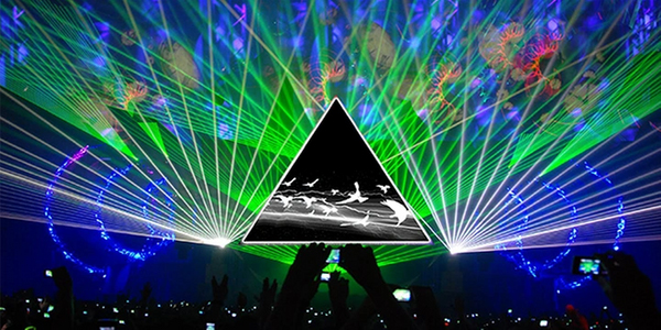 The Pink Floyd Laser Spectacular Show is an interactive, immersive experience!