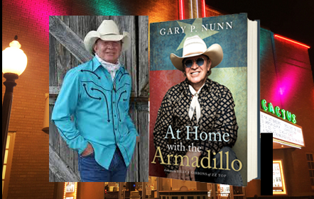 """West Texas native Gary P Nunn is indeed """"coming home"""" for one more show on his retirement tour.  Don't miss it…Thursday, Sept 5!"""