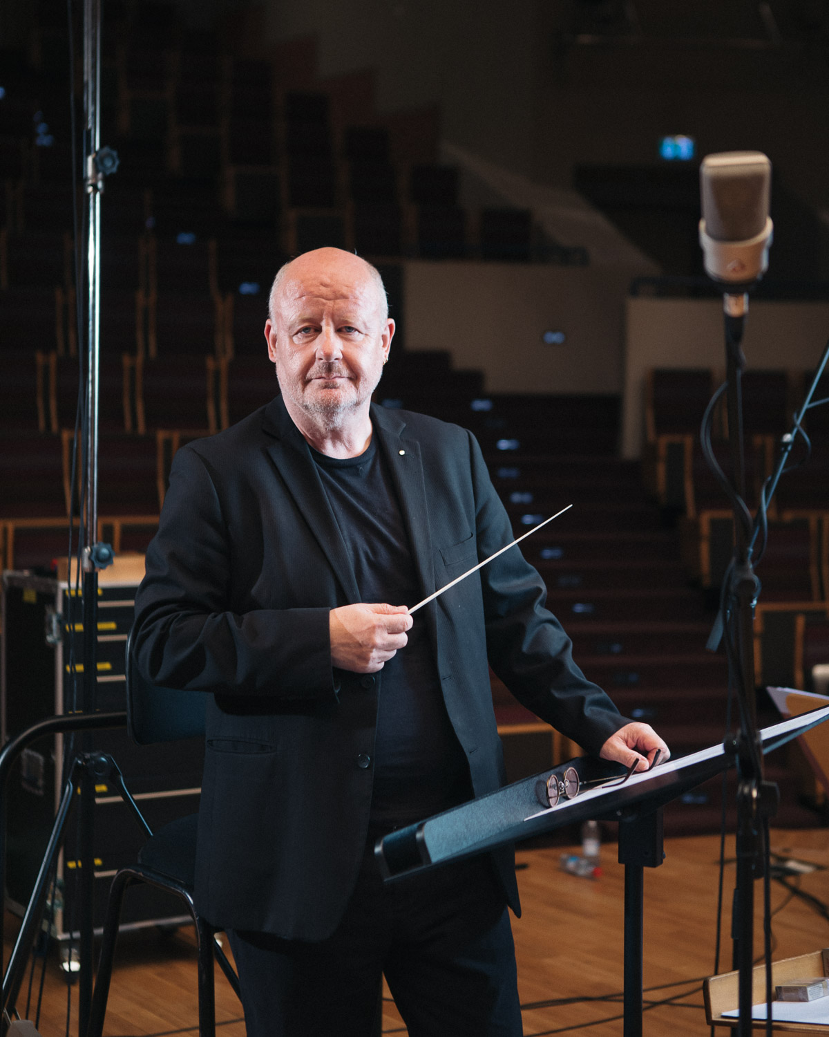 Gast Waltzing - On-location Portrait, Luxembourg Conservatoire