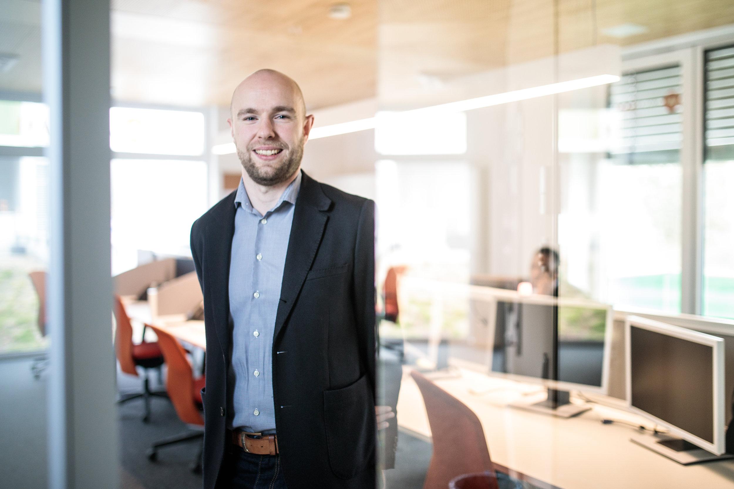 Cyrille Horper, chargé de communication chez Webtaxi.