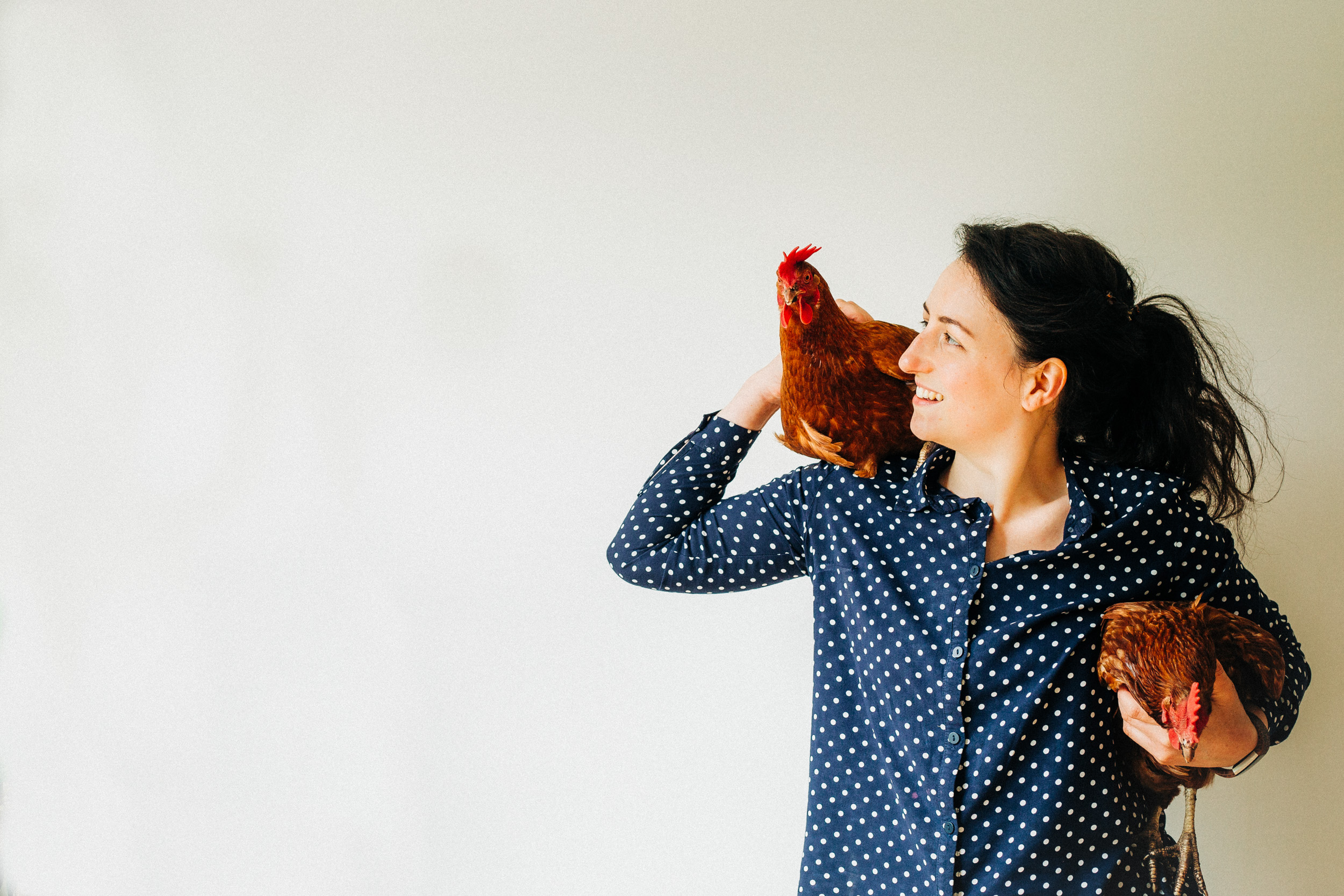 Cardiff Photographer Alex Sedgmond - Photography South Wales - Emily Levey & Chickens-2.jpg
