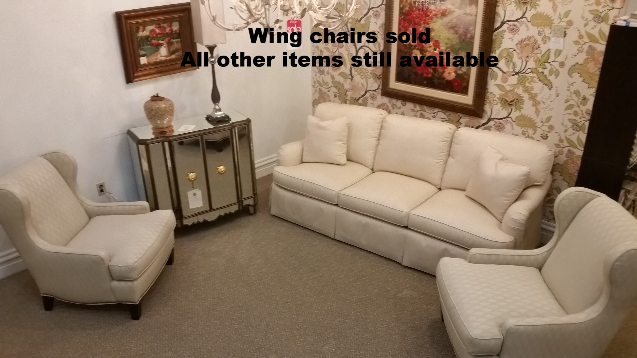 Sofa and Chairs Set