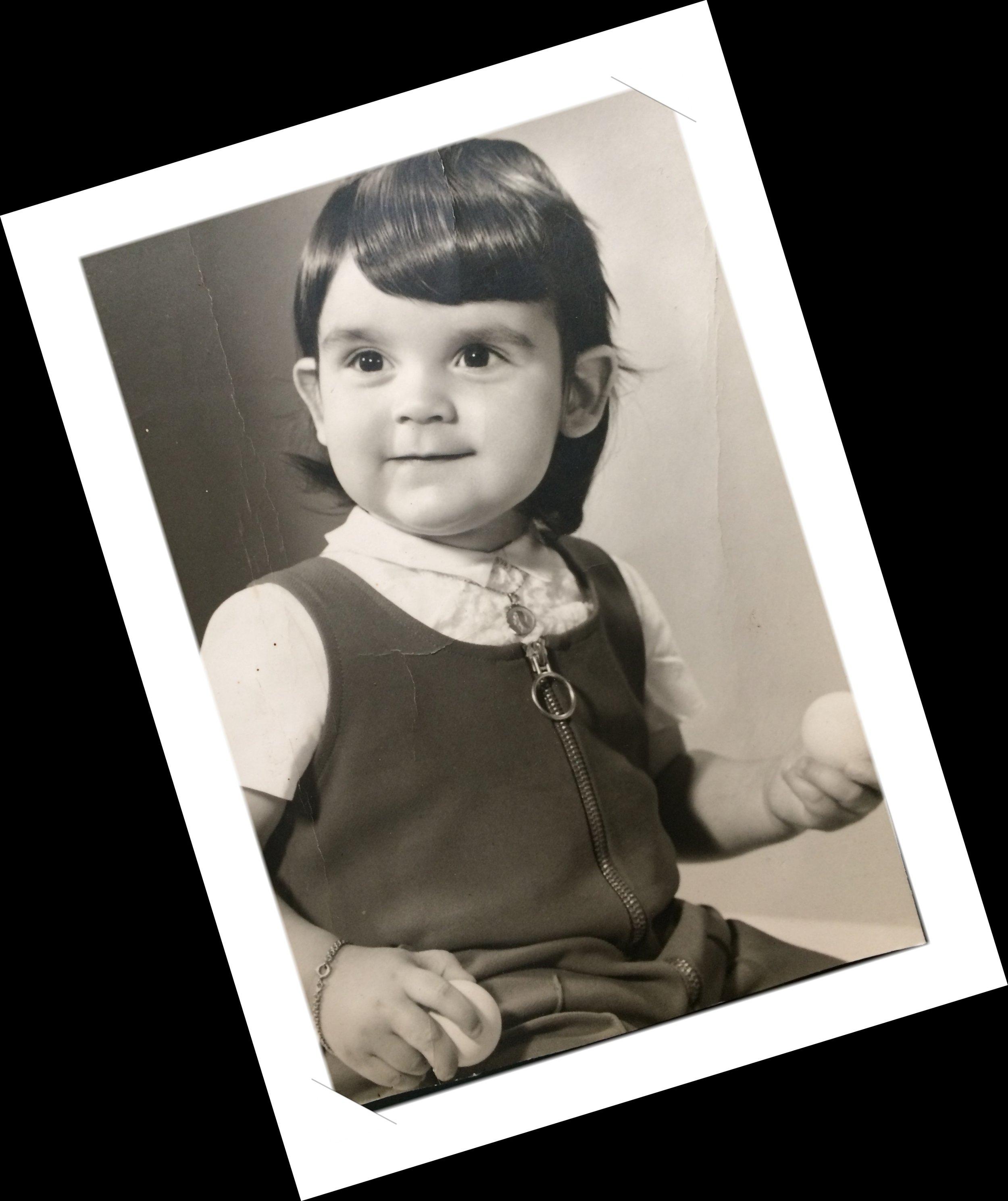 Eh...oui, déjà à cet âge... 3 ans.Apparition et disparition de balle, le destin est parfois magique... -
