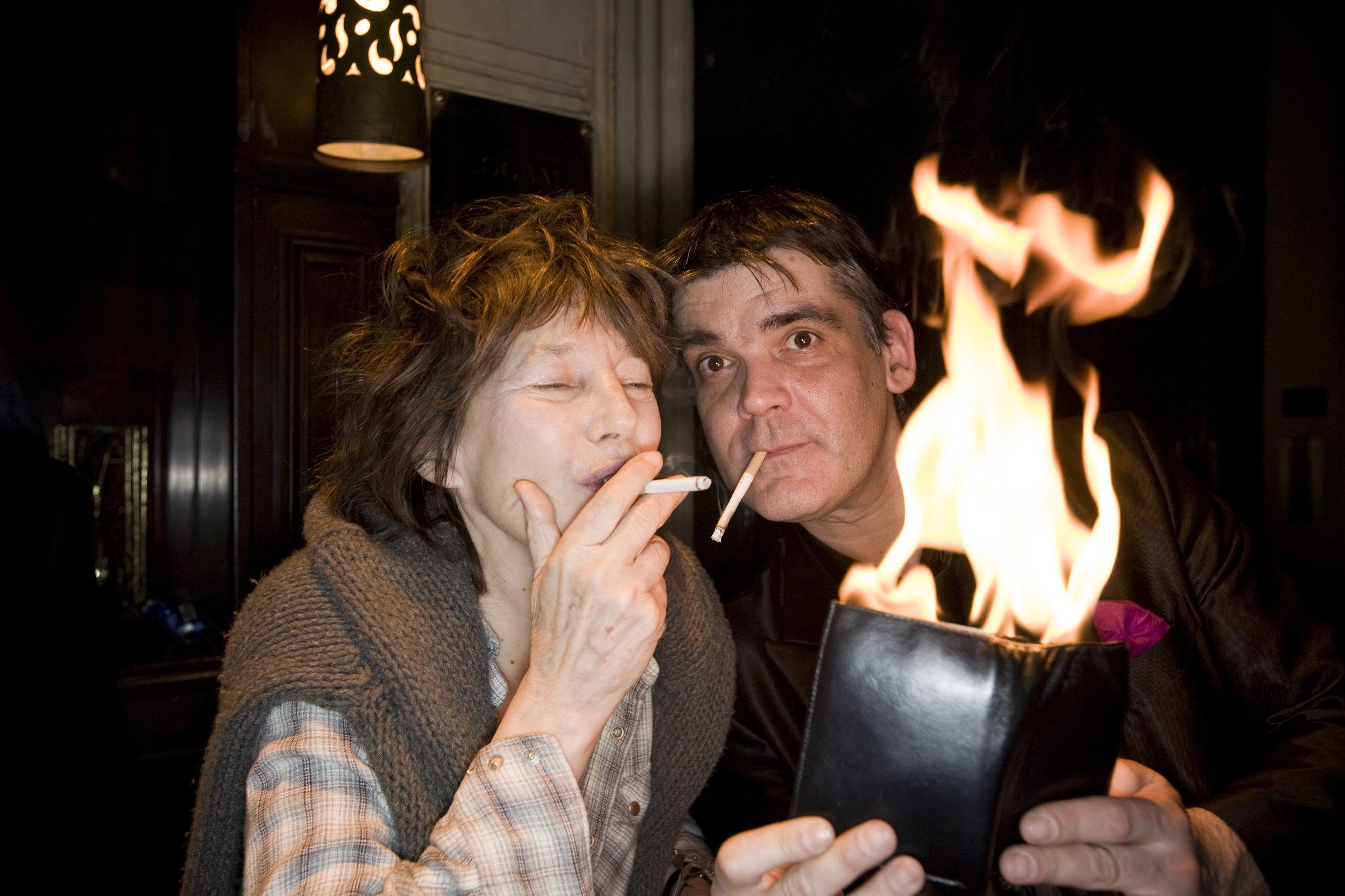 avec Jane Birkin