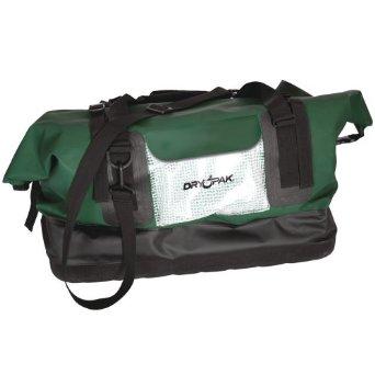 dry pak waterproof duffel green
