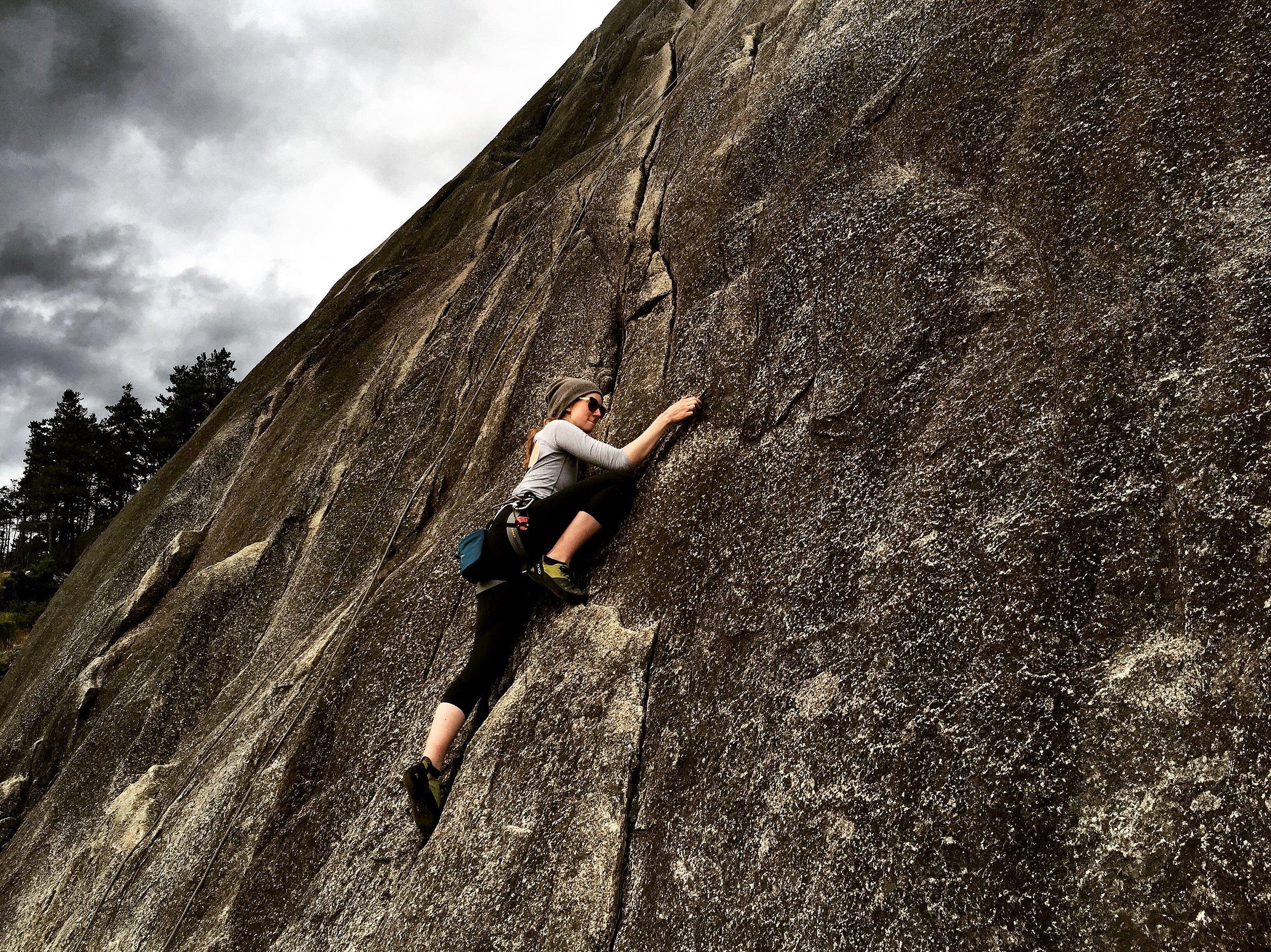Climbing Squamish