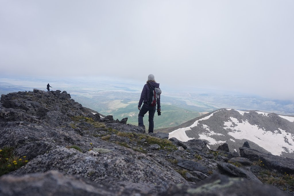 WHAT IT'S LIKE TO CLIMB A PRIVATE 14ER