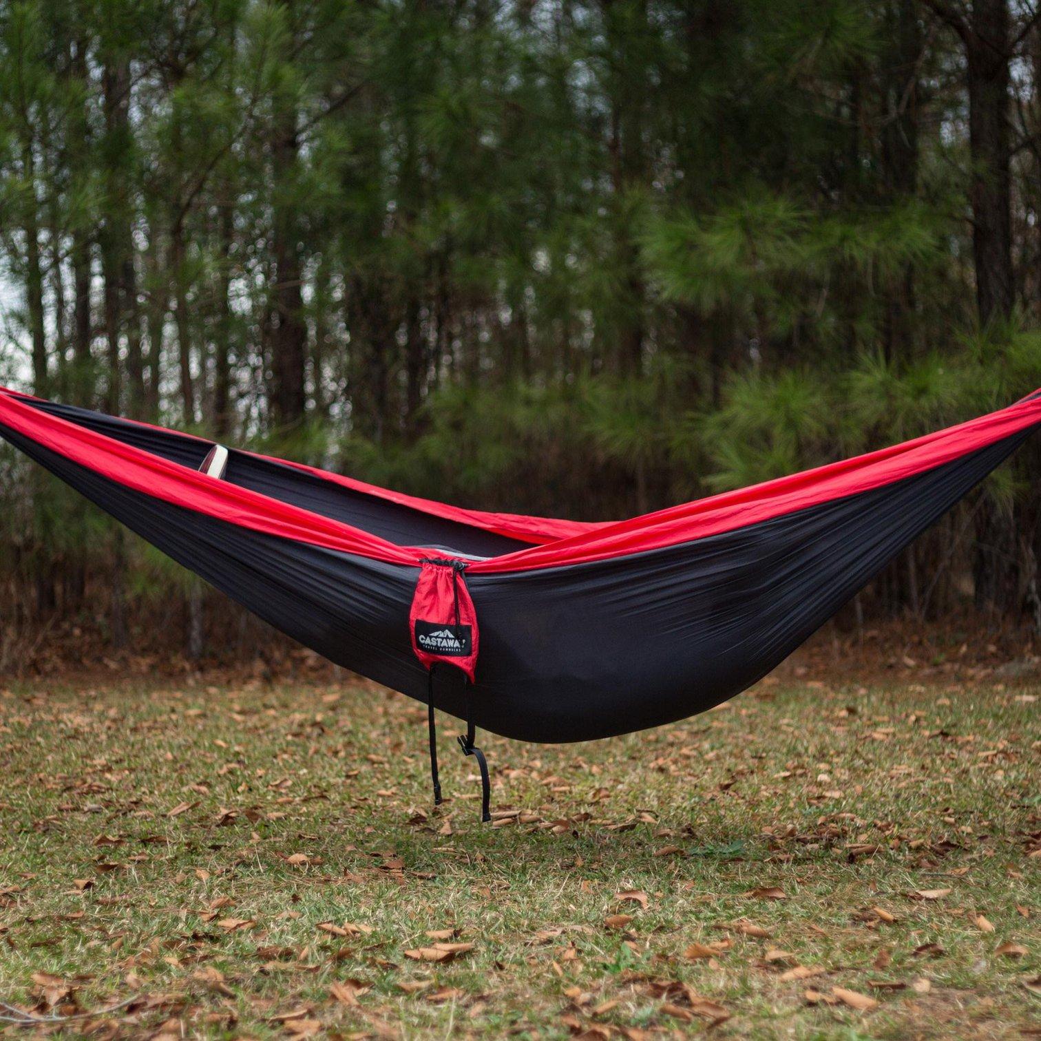 35+ Castaway Travel Hammock With Hanging Strap