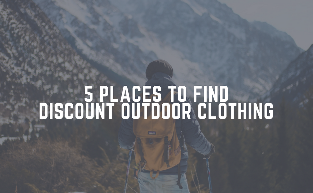 5 Places to Find Discount Outdoor Clothing