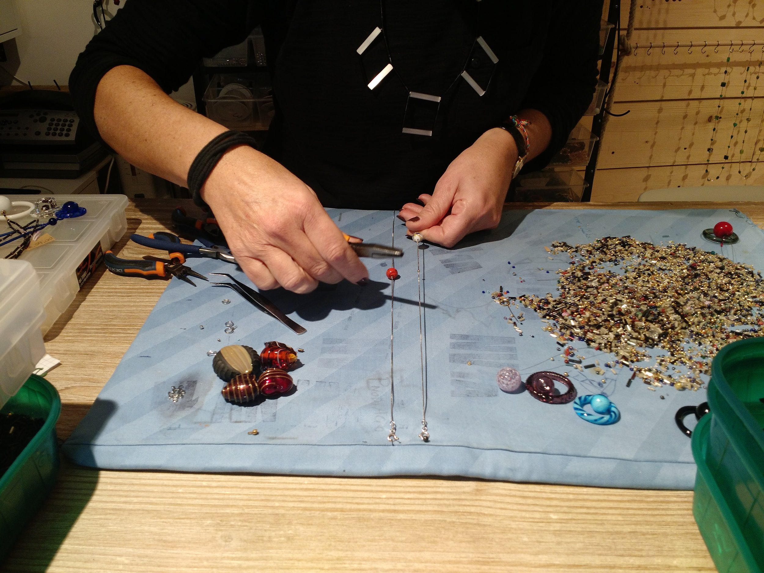 Getting a custom necklace made