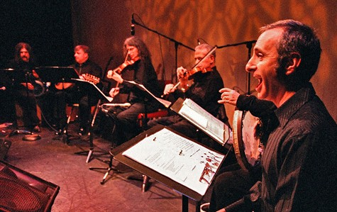 """Ensemble of musicians from """"Peace in the House""""  Photo by Ann Silver    jpg download  (61 KB)"""
