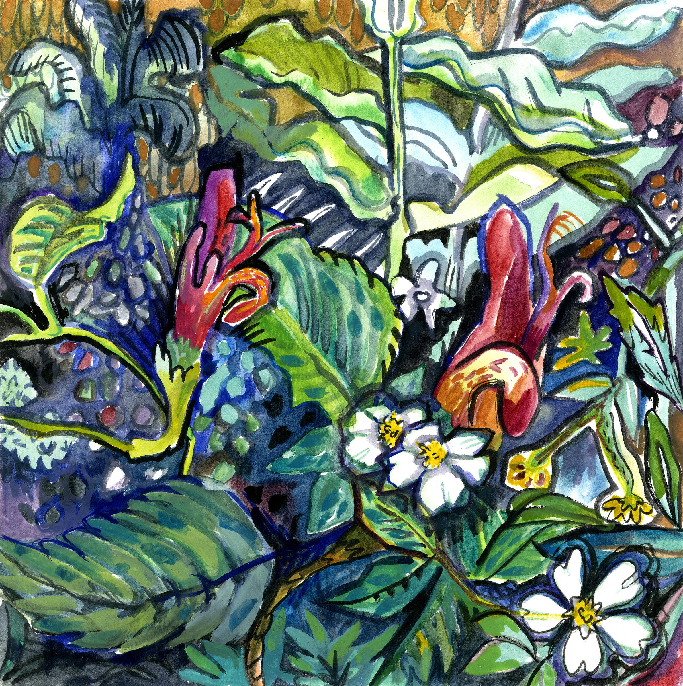Freeform Botanical 1