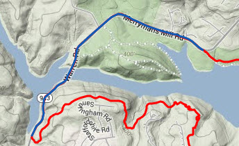 the nue training route
