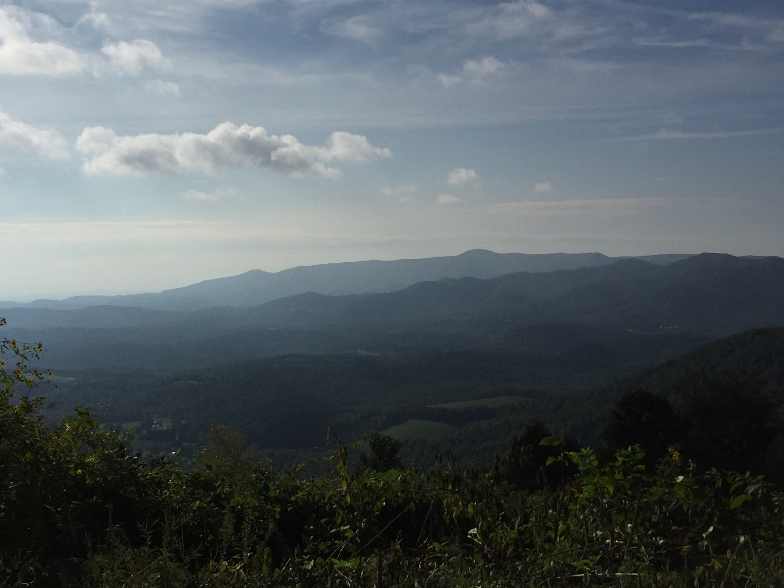 The views up Belcher were awesome!