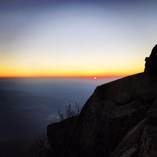 Sunrise from Sharptop