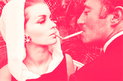 Woman-and-man-smoking-cigar