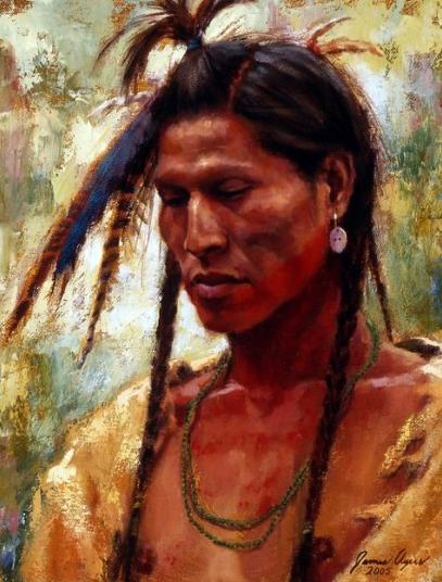 """A Time of Reflection--Crow""--credit: James Ayers Studios: http://jamesayers.com/original-artwork/sold-work/a-time-of-reflection-gallery/"