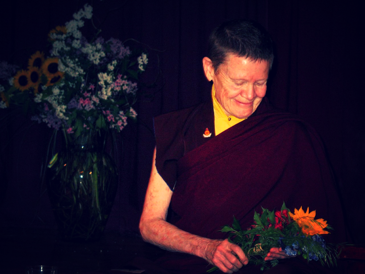Pema Chodron: Courtesy Cello8 on Flickr