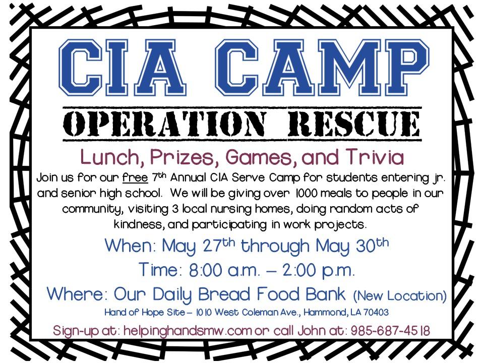 CIA Camp