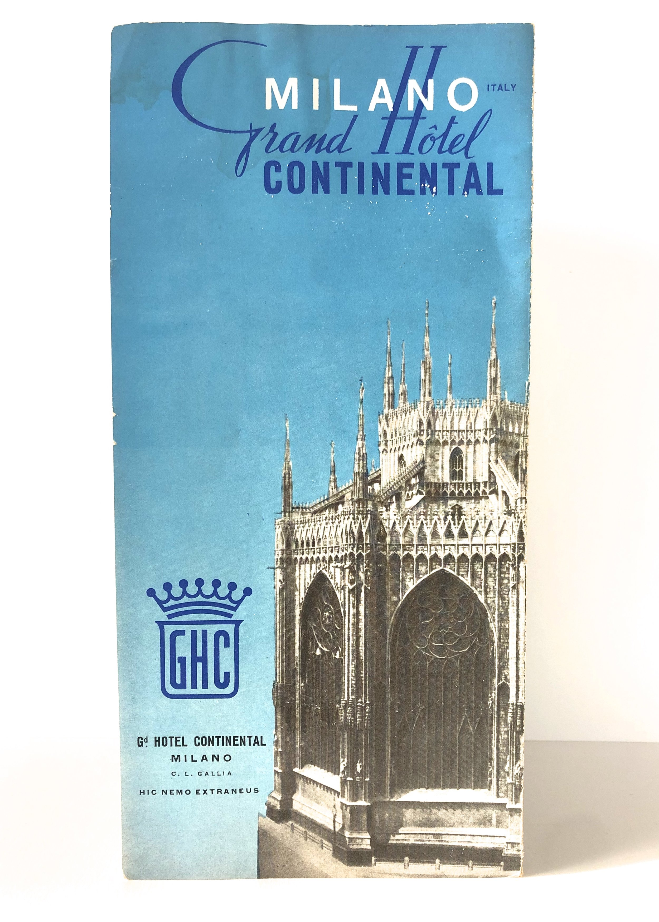 Continental Hotel Pamphlet