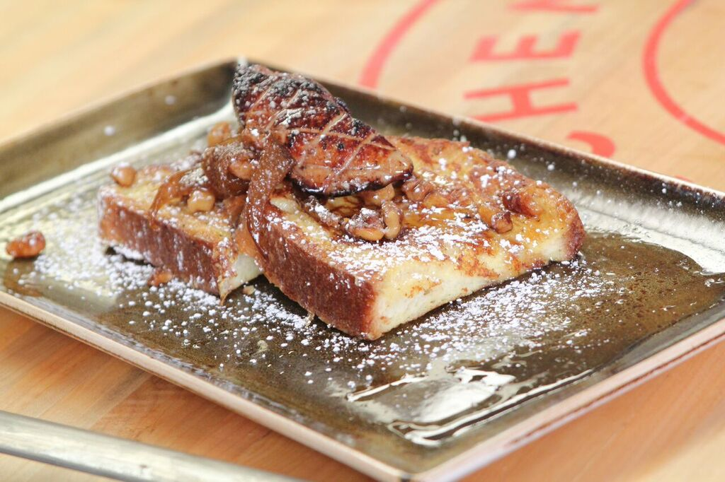 French Toast with Seared Foie
