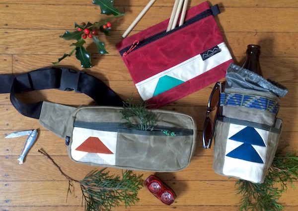 Bootypack, All-Purpose Pouch and Snackhole are readymade and under 75 bucks!