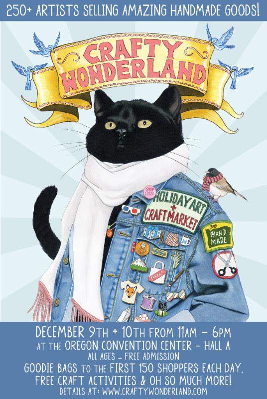 For details, check out  Crafty Wonderland's website .