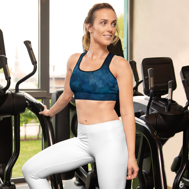 Activewear - A collection of sports bras, compression tops, leggings and wellness gadgets.