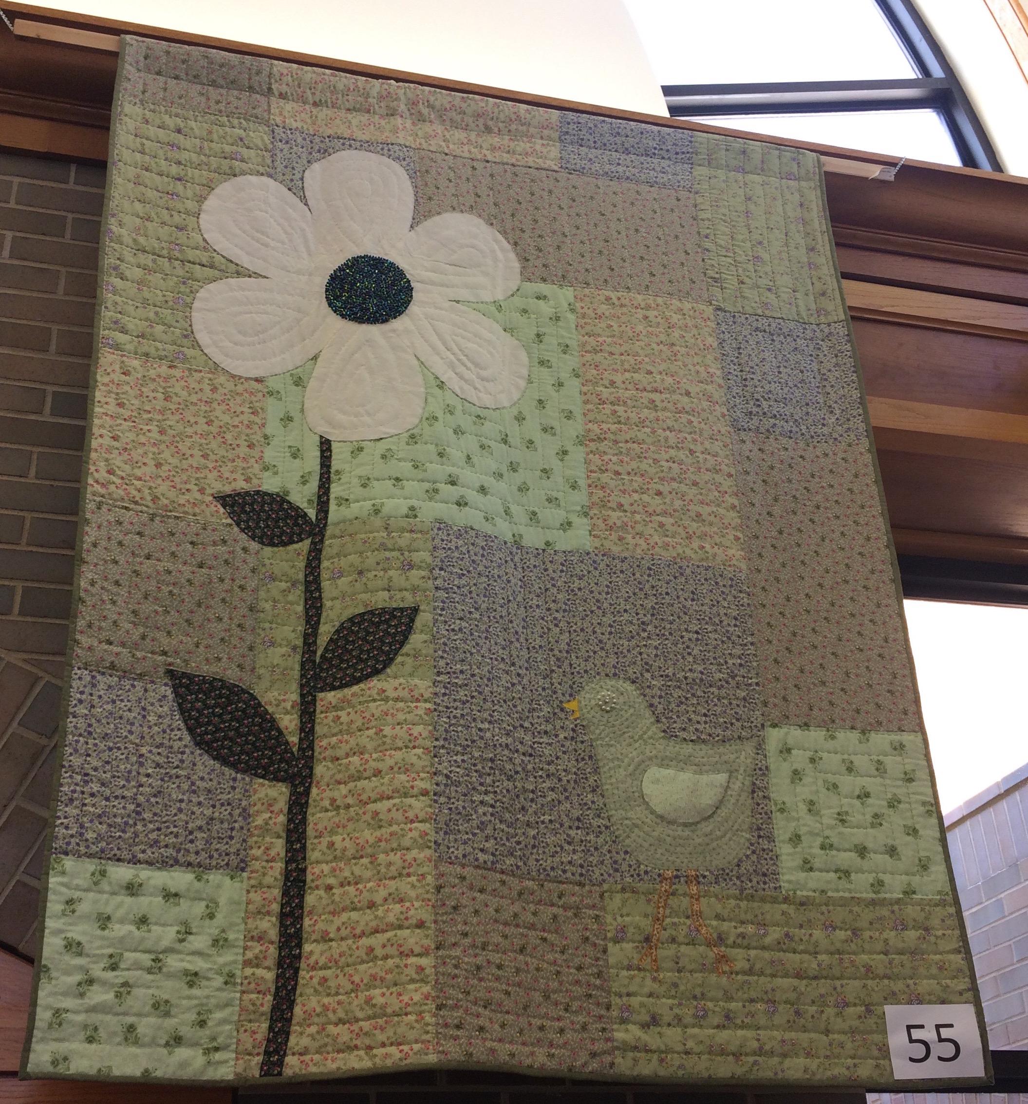 Big Block Bird Appliqué