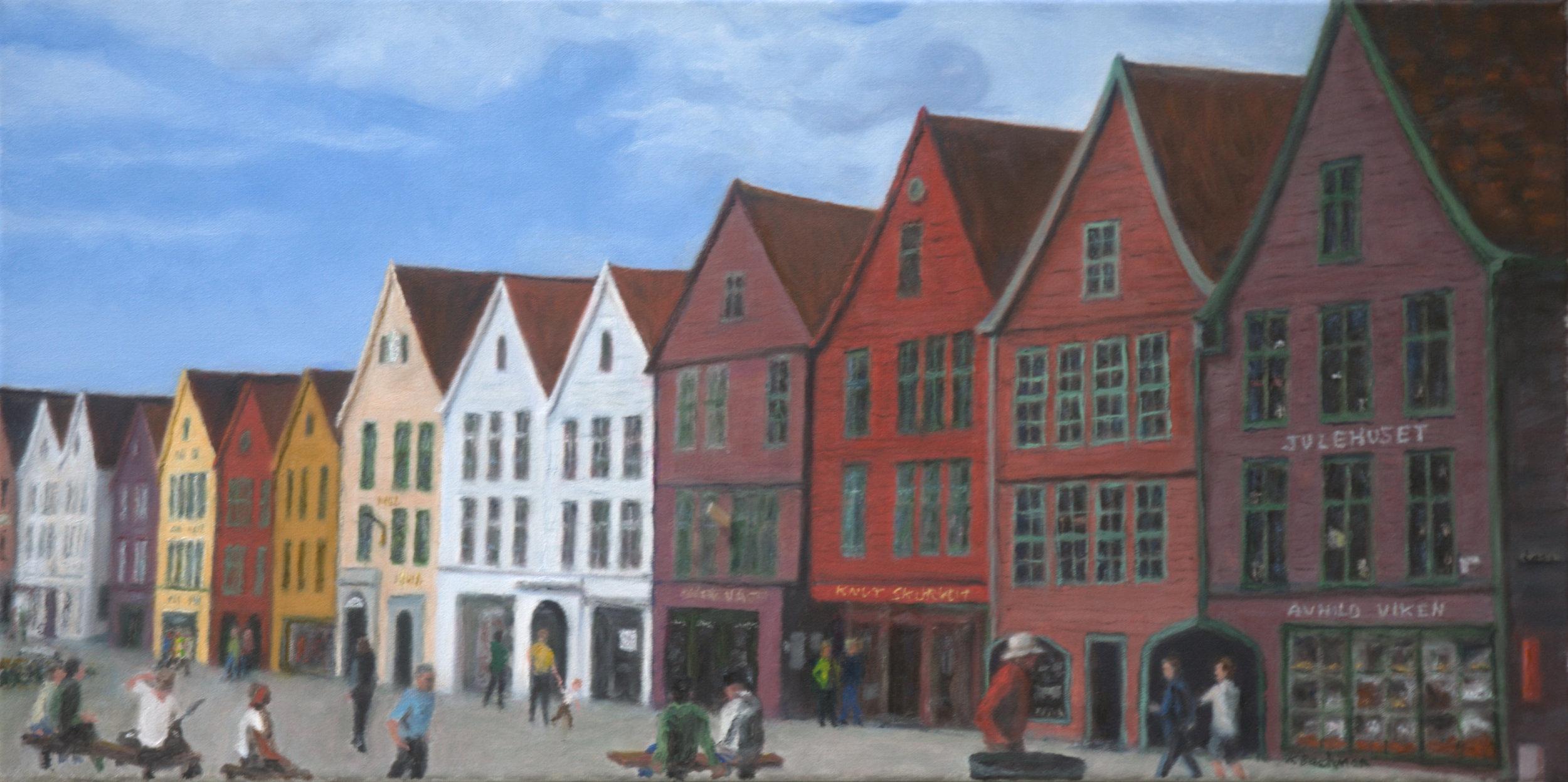 Old Bergen Waterfront