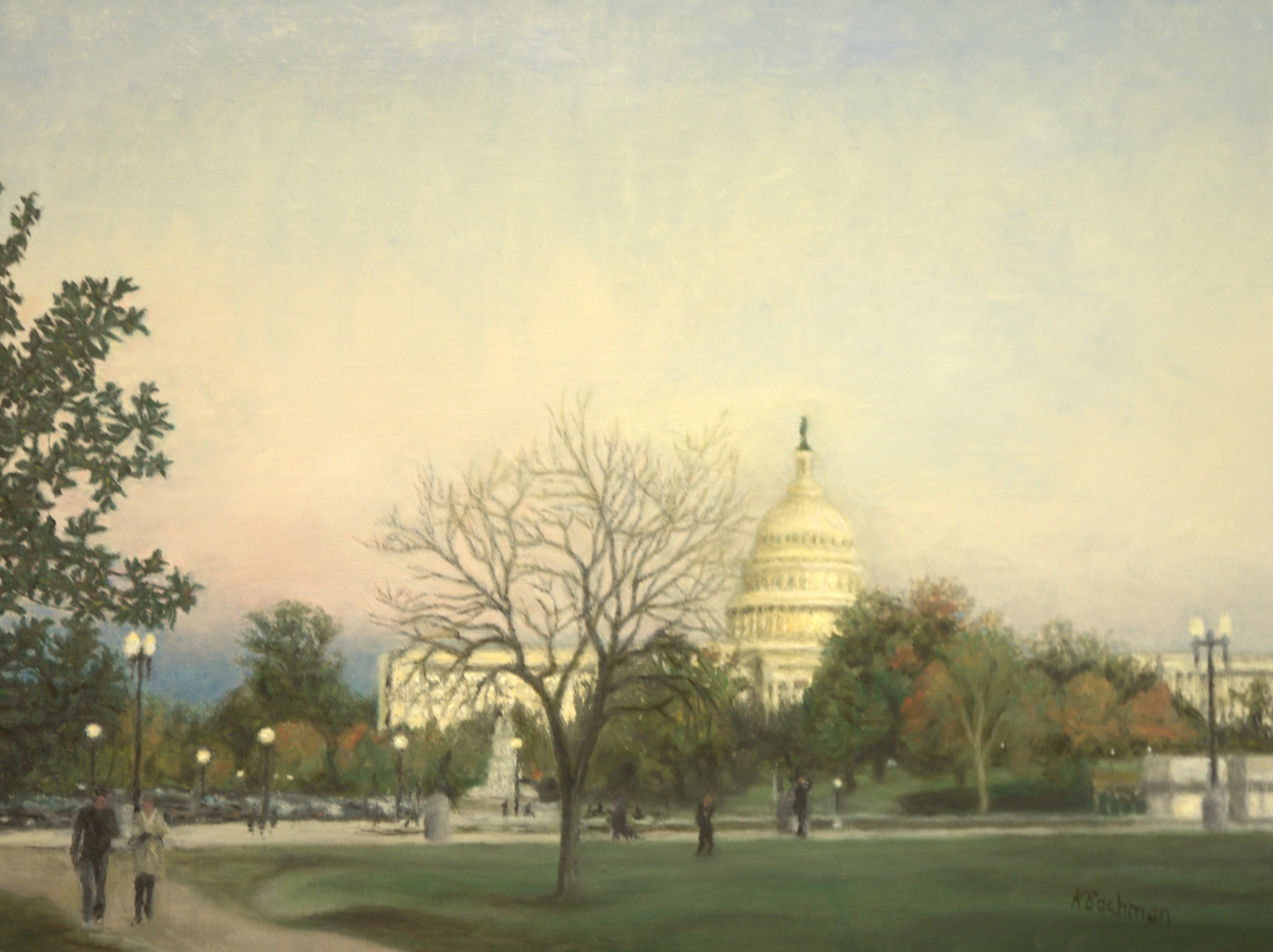 Fall Evening at the Capitol