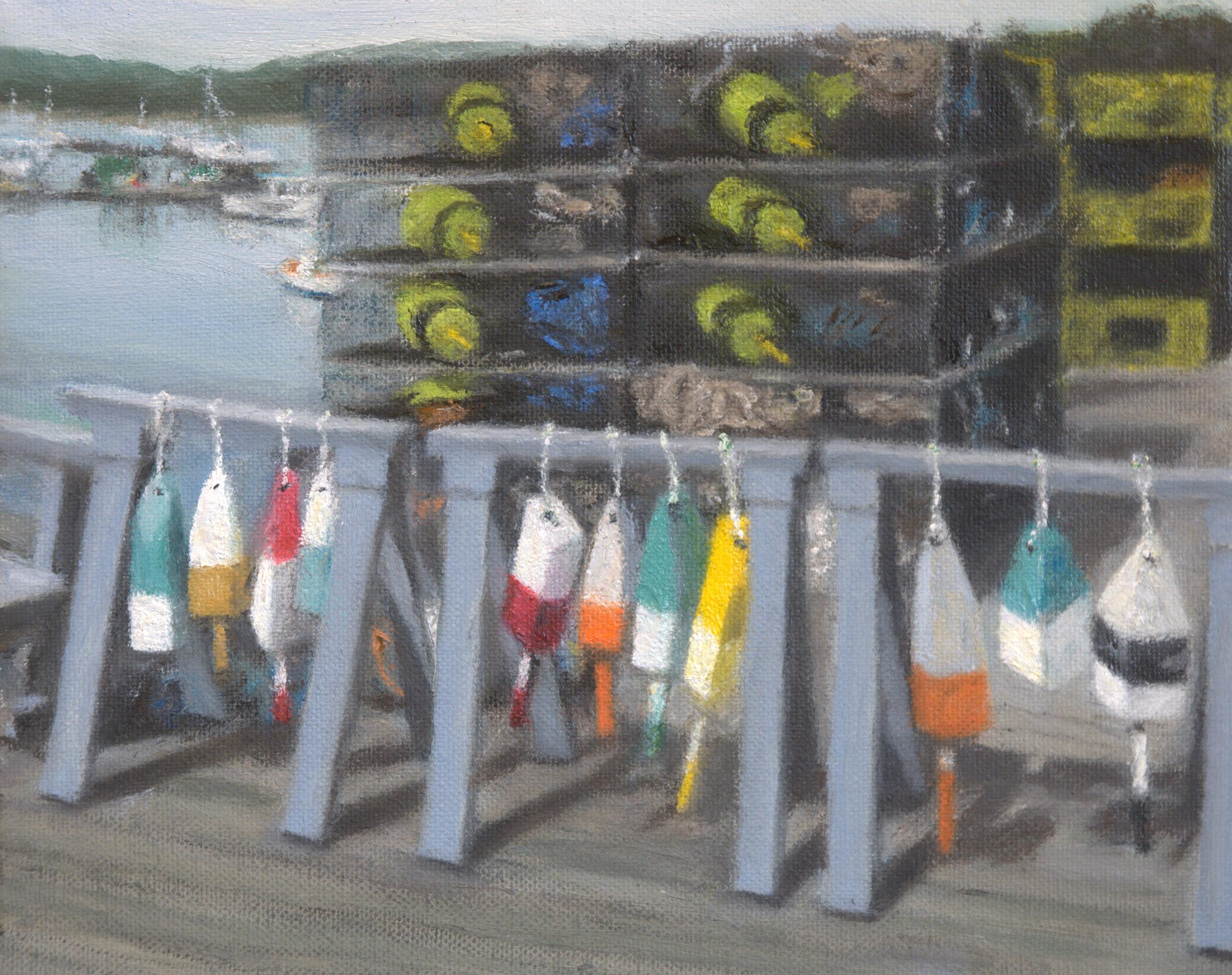 Buoys on the Dock