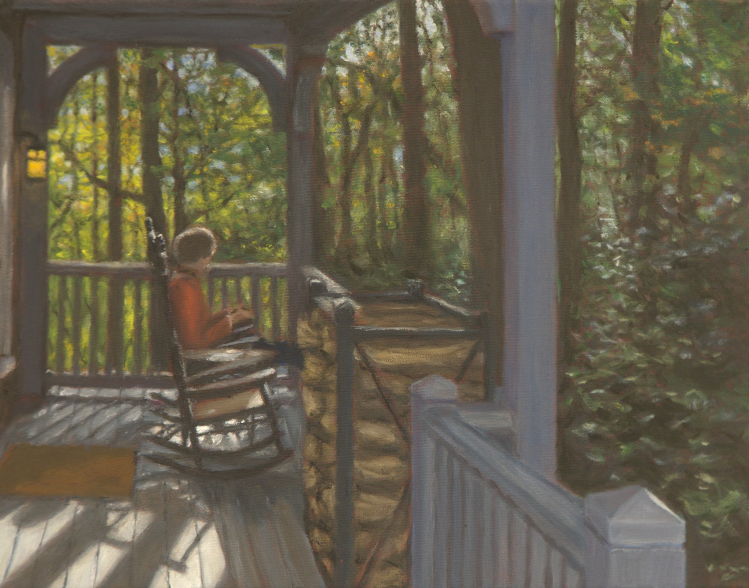 Cabin Porch