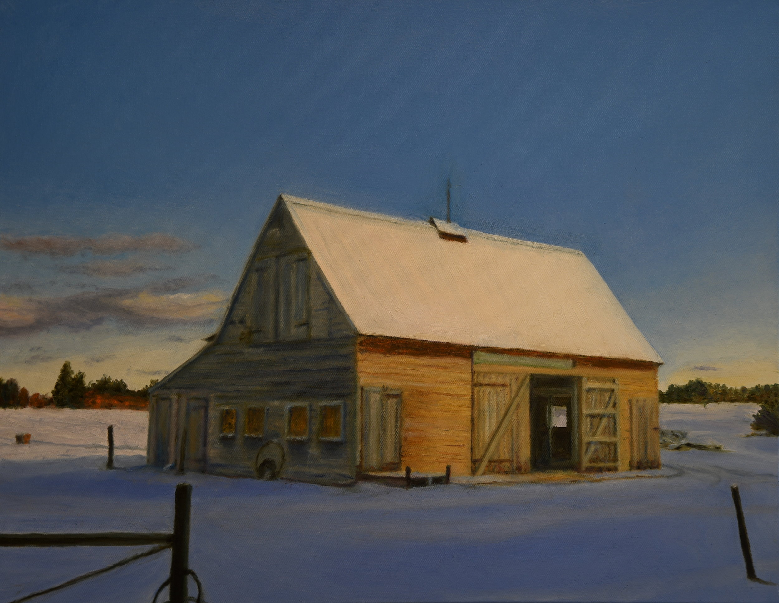 Daybreak at the Barn
