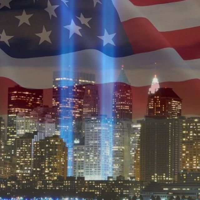 Today we remember those who paid the ultimate sacrifice 18 years ago #neverforget #911 #kmdesigns