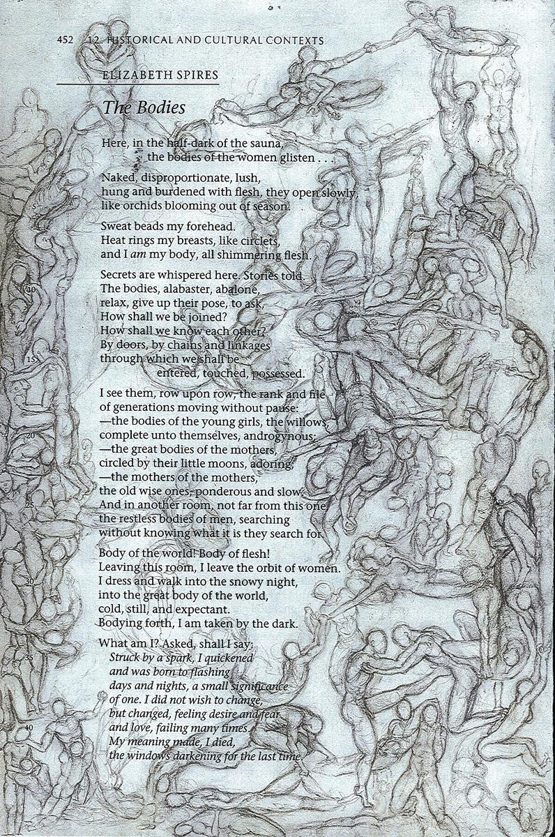 "The Bodies, pencil, 9"" x 6"" - by Rowan Pope"