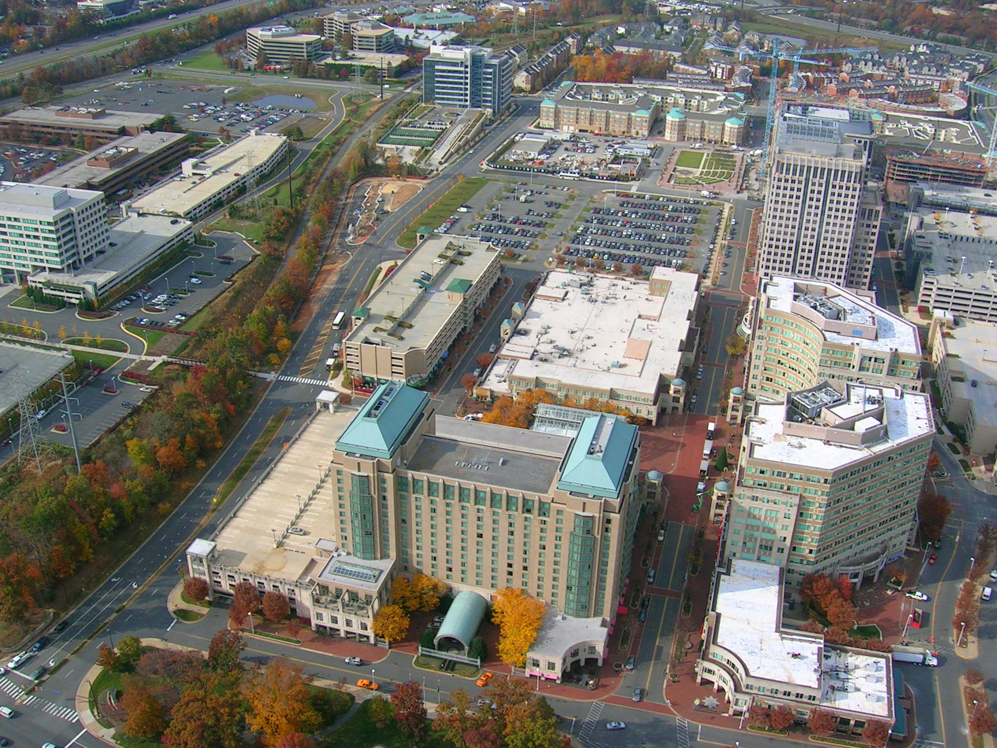 Reston Town Center    Description: A large mixed-use development.  Client(s): Westerra Reston, Boston Properties, Trammell Crow Residential, SallieMae, Equity Office Partners  Location: Fairfax County, Virginia  Size: 84 acres