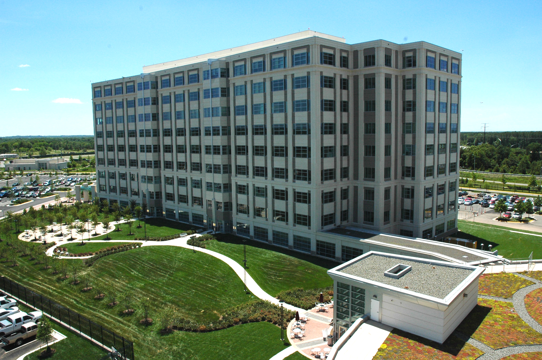 Dulles Discovery    Description: Secure Government Office Park.  Client(s): The Peterson Companies  Location: Fairfax County, Virginia  Size: 22 acres